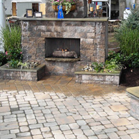 Cambridge Pavers - Outdoor Fireplaces, BBQ & Firepit Kits