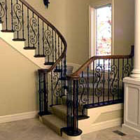fitts baluster wrought iron
