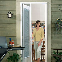 Odl Retractable Screen Door odl - retractable screen doors - curtis lumber co., inc. eshowroom