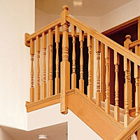 Fitts - Stair System, Hemlock
